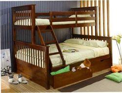 Кровать двухъярусная детская трехспальная трехместная Жасмин олимп олигарх