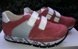 Minimen Минимен кожаные кроссовки для девочки 28р