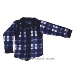 Теплая флисовая рубашка