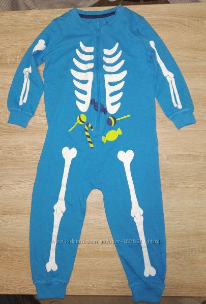 Пижама человечек светится в темноте Lupilu