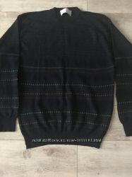 Пуловер, свитер , шерсть 100, Италия новый