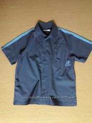 Рубашка с коротким рукавом GEORGE на мальчика 6-7 лет, рост 116-122
