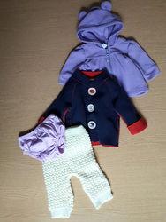 Детскиеу вещи пакетом - 4 вещи 0-6 месяцев