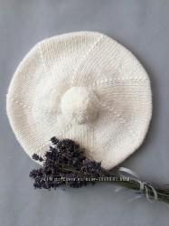 Берети, шапочки дитячі вязані на замовлення