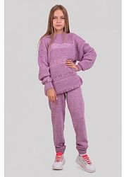 Стильний вязаный костюм для девочки 140, 152 рост Новинка