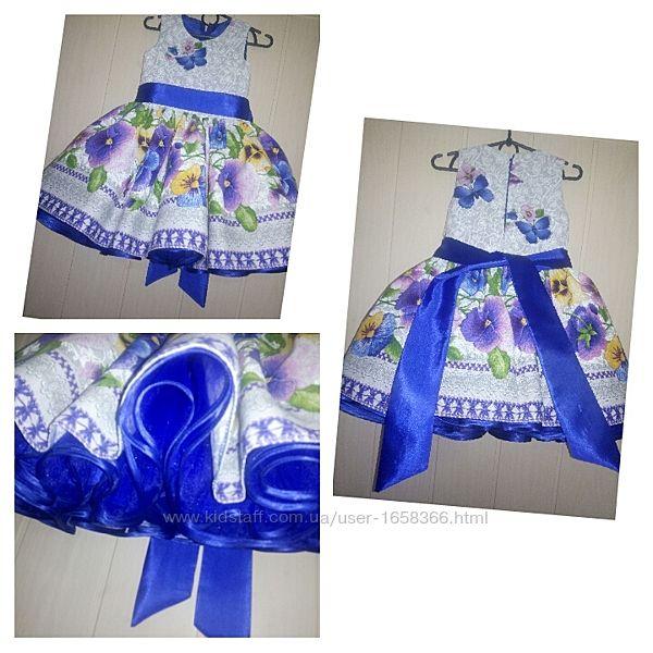 нарядное детское украинское платье большой выбор сукня плаття на год