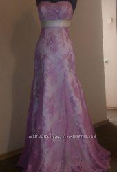 Нарядное выпускное свадебное корсетное вечернее женское платье