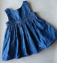 Летнее платье для девочки Baby Gap 6-12 мес