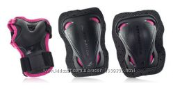 Защита Rollerblade Protection BladeGear 3-Pack Black pink