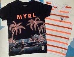 Літній  комплект набори набір сет футболка та майка Mayoral Майорал