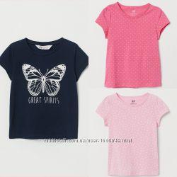 Новинка футболки для девочки h&m