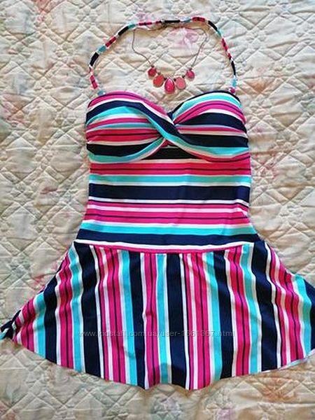 Шикарный прекрасный купальник - платье, танкини в бассейн или пляж