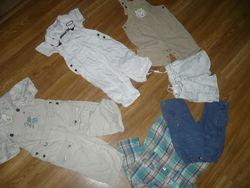 Костюм летний оптом Пакет летней одежды на мальчика 80-92р.