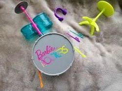 Ударная установка для кукол Барби оригинал Маттел