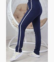 р-р 56-62, штаны брюки спортивные трикотажные батал