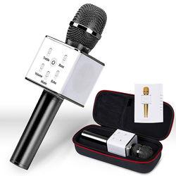 Bluetooth микрофон для караоке  ЧЕХОЛ
