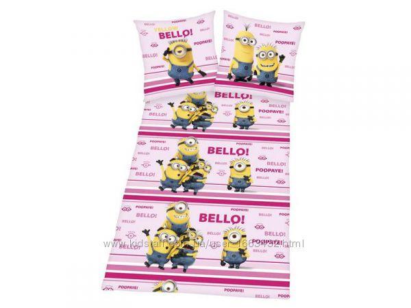 Хлопковое детское постельное белье ранфорс meradiso
