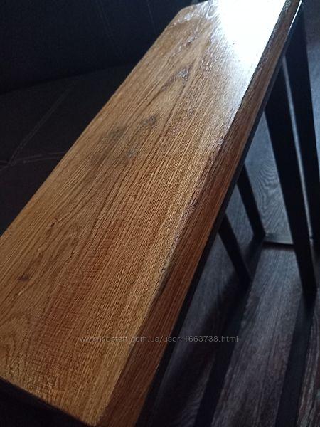 Прикроватный столик . Лофт. Дуб.