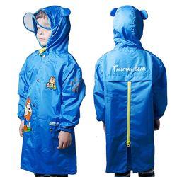 Куртка-ветровка детская водонепроницаемая унисекс Мишки