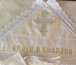 Крестильная крыжма Православный крест