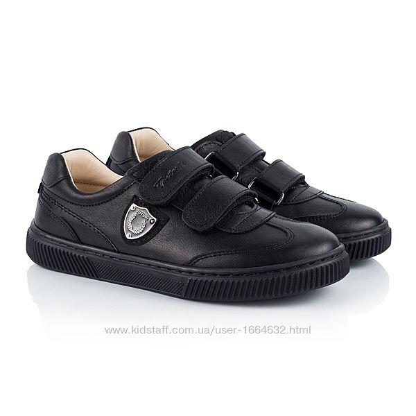 Туфли Tutubi Турция р.31,34,35,36 черный кожа