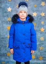 Пуховик-куртка для девочки или мальчика рр. 122-158