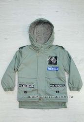 Куртка-парка демисезонная для мальчика рр. 110-128