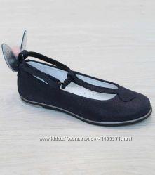Туфли черные для девочки Bartek рр. 30-36