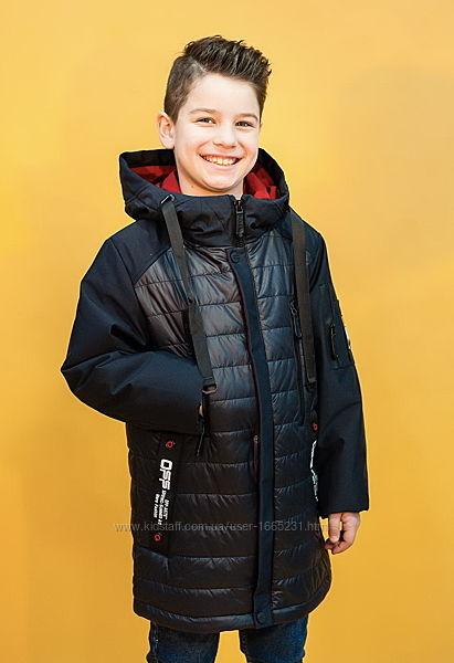 Куртка демисезонная удлинённая для мальчика Venidise 164р.