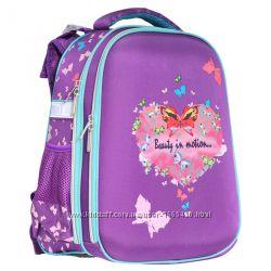 Рюкзак школьный каркасный CLASS Heart 9901