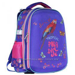 Рюкзак школьный каркасный CLASS Tropical 9904