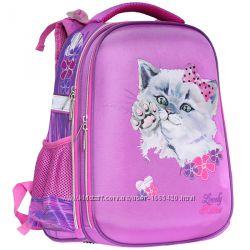 Рюкзак школьный каркасный CLASS Fancy Kitten 9905