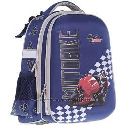 Рюкзак школьный каркасный CLASS Motobike 9909