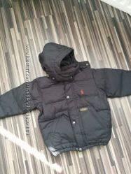 Детская пуховая куртка на 2 года Polo Ralph Lauren