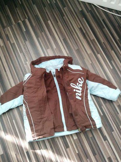 Детская курточка двойнаякурткафлисовая кофта NIKE