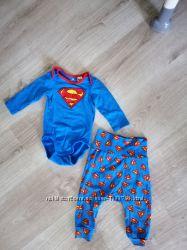 Детский набор супермен h&m