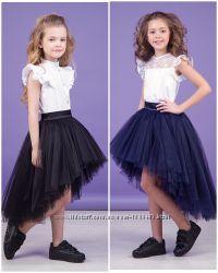 Пышная юбка в школу Zironka 116, 122, 128, 134, 140, 146, 152, 158, 164
