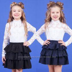 Юбка для девочки  zironka  рост 116, 122, 128, 134