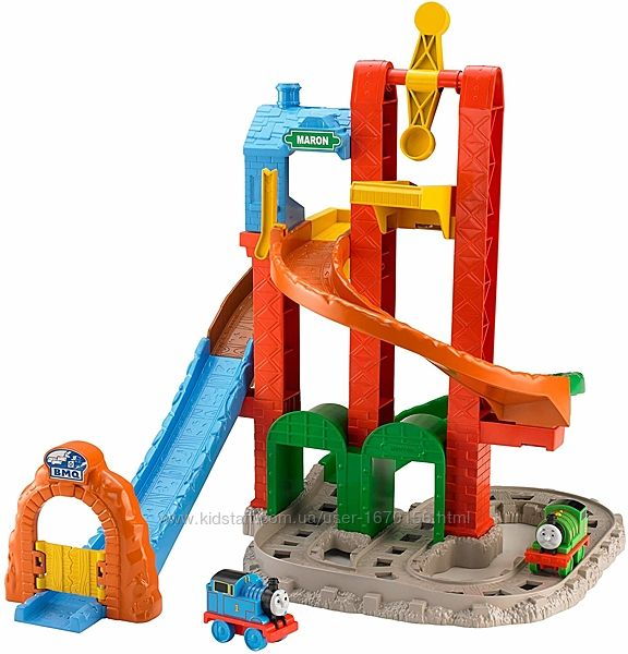 Thomas & Friends Fisher-Price My First, Twisting Tower Tracks