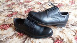 Мужские кожаные туфли 41р.