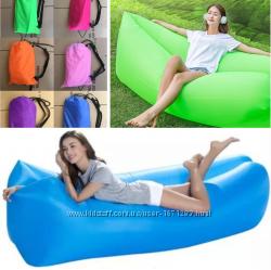 Ламзак надувной диван Двухслойный матрас Lamzac лежак пляжный матрас