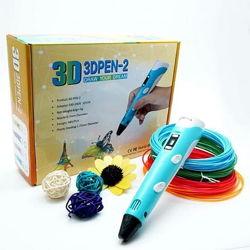 3D ручка 3D PEN-2 с Led дисплеем пластик