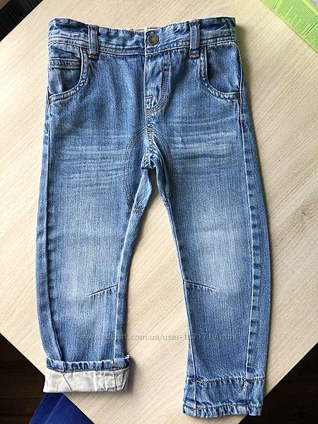 Стильные джинсы Mothercare, 2-3 года
