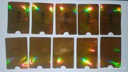Картхолдер защитный для id паспорта, банк. карт