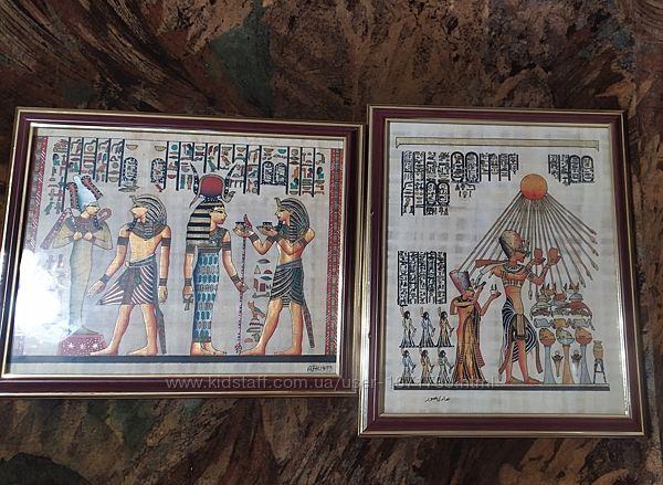 Картины с папируса из Египта