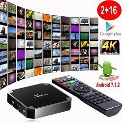 SmartТВ приставка X96 mini 1GB /8 GB 2/16 Gb IPTV Android TV BOX 7.1.2