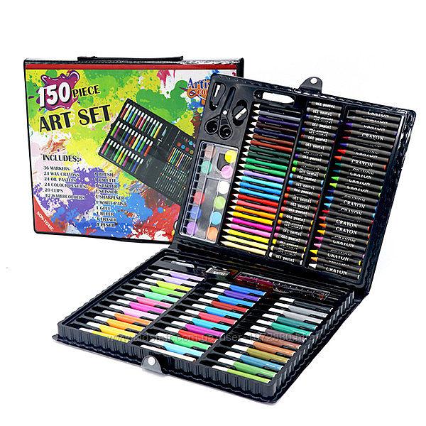 Набор для рисования ARTIS Art Set Набір юного художника 150 шт Черный