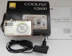 Фотокамера Nikon Coolpix S2600