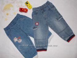 Пакет хороших вещей. Джинсы, штаны. Хлопок. Мальчик. 1-1, 5 года, рост 80