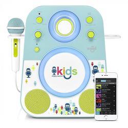 Акустическая система с микрофоном Singing Machine Sing-Along Bluetooth Blue